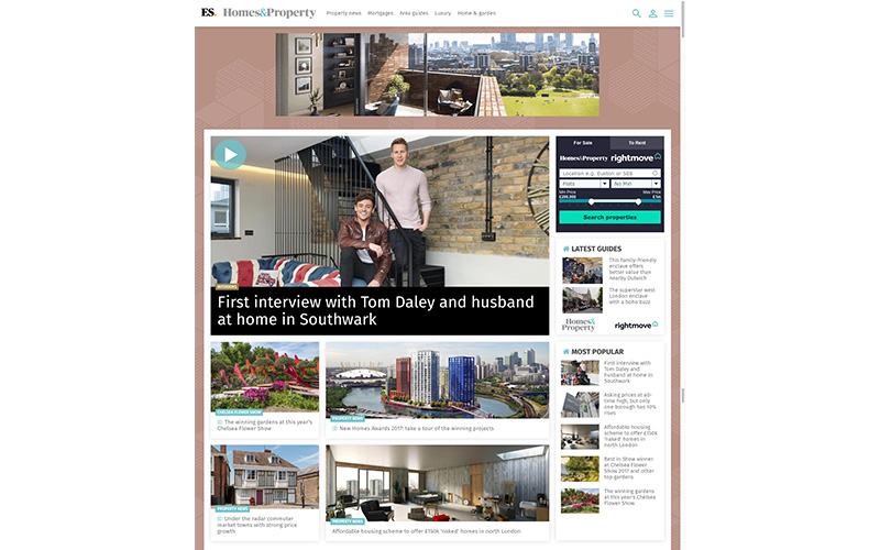 coupdeville architects evening standard online tom daley dustin lance black thb
